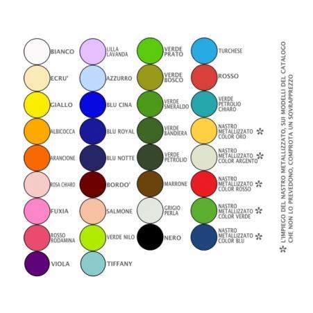 Cartella colori 30 colori per comporre la vostra coccarda for Tabella per mescolare i colori